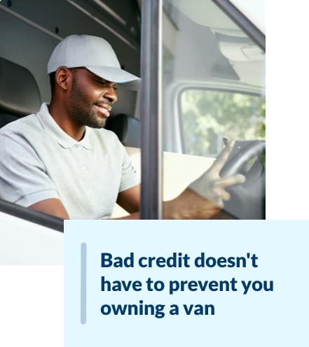 Bad credit van finance