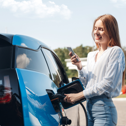 How can Hippo help me get an electric car and finance deal?