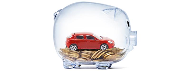 Savings Tin And Car