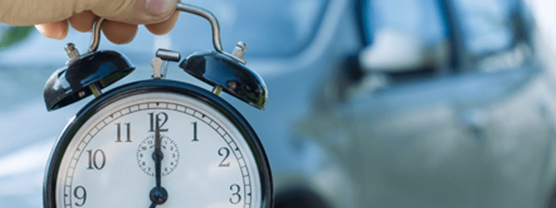 Car And Clock