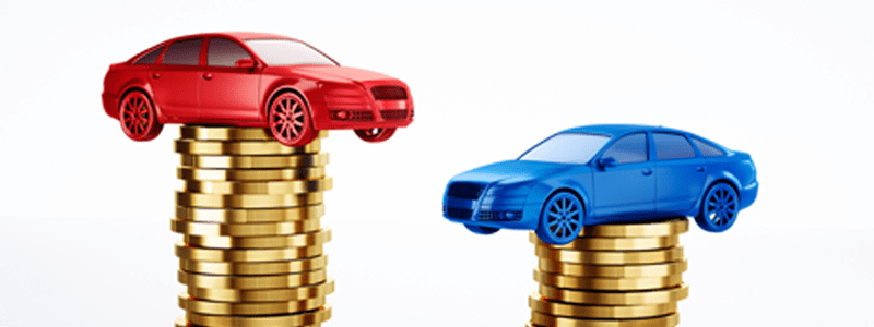 Toy cars and money