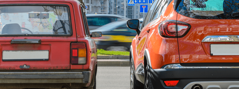 pros and cons of part exchanging a car