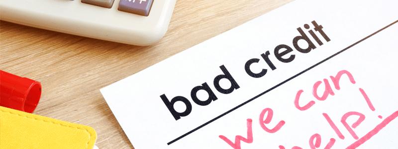 Bad credit document