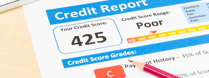 5 Reasons You Were Refused For Car Finance And What To Do Next - Poor credit file
