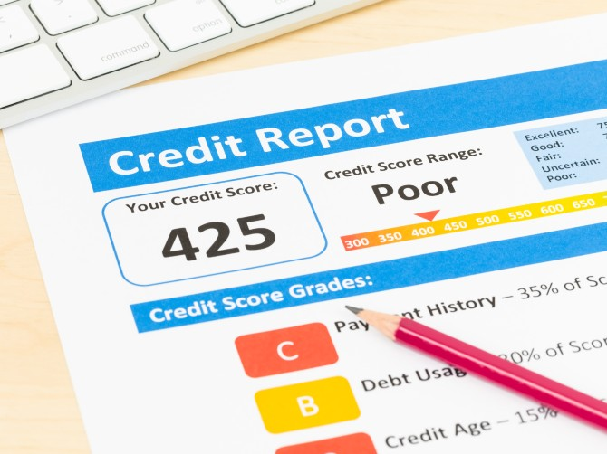 Why has my credit score changed?