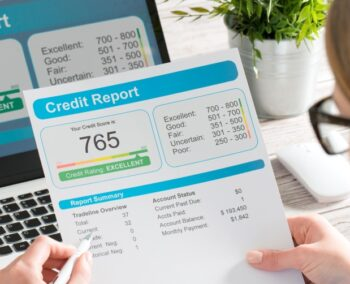 What is a credit report and what does it contain?